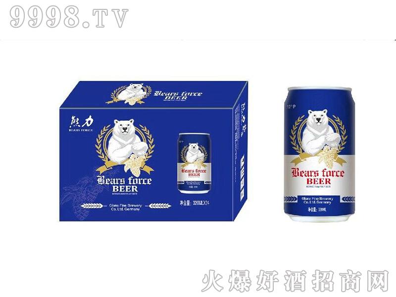 熊力精酿千赢国际手机版蓝罐箱装12度320mlx24罐-千赢国际手机版招商信息