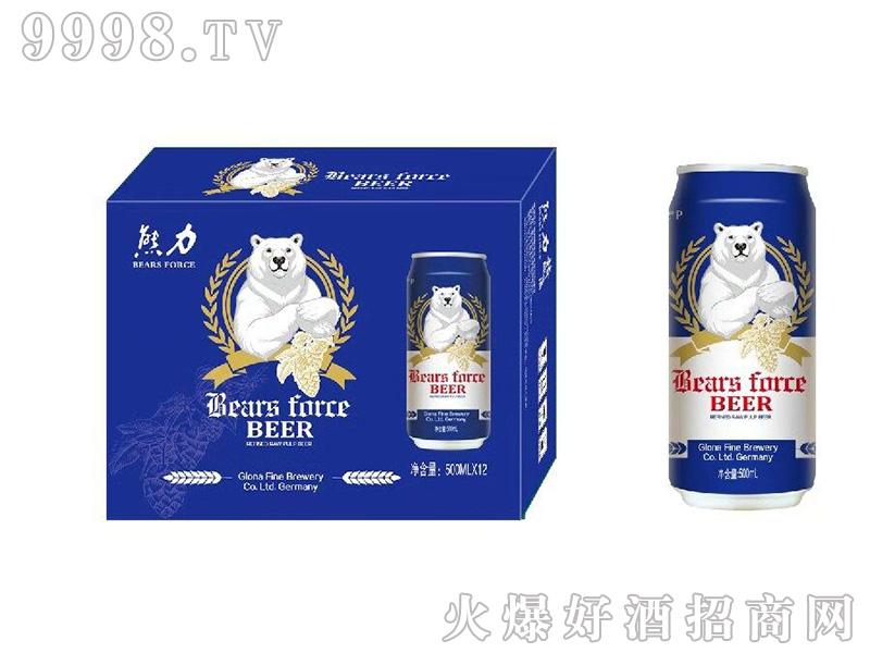 熊力精酿千赢国际手机版蓝罐箱装12度500mlx12罐-千赢国际手机版招商信息