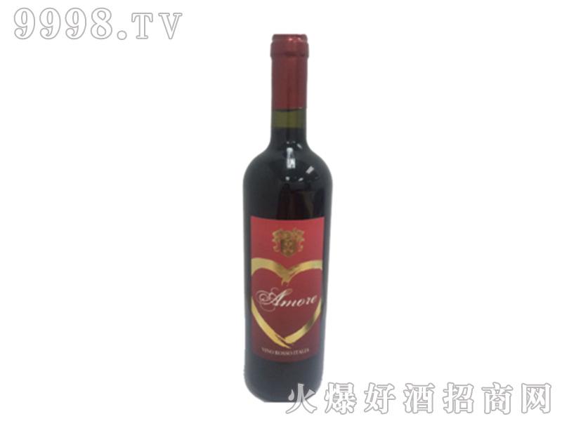 意帝热恋红葡萄酒13°750ml-红酒招商信息
