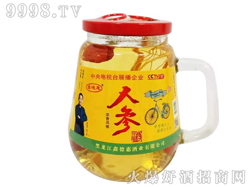 鑫德惠人参酒150ml42度(青标)