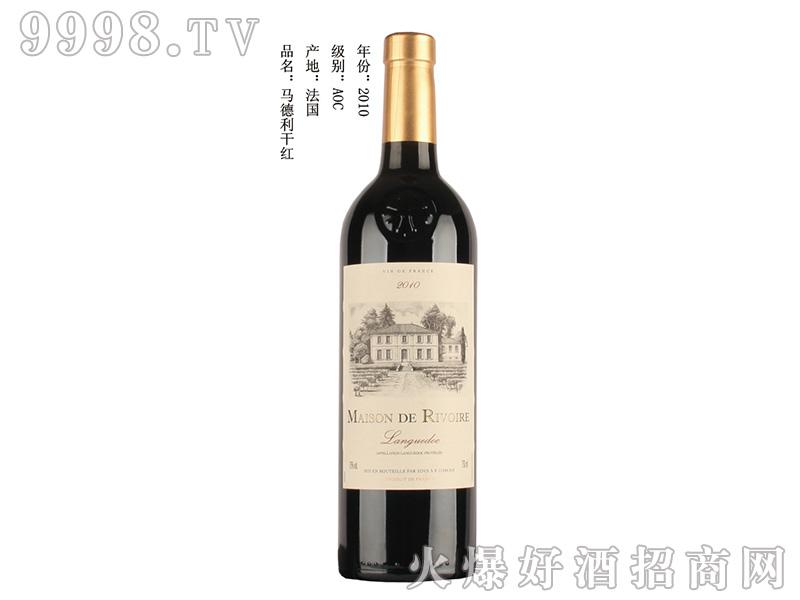 马德利干红葡萄酒750ml