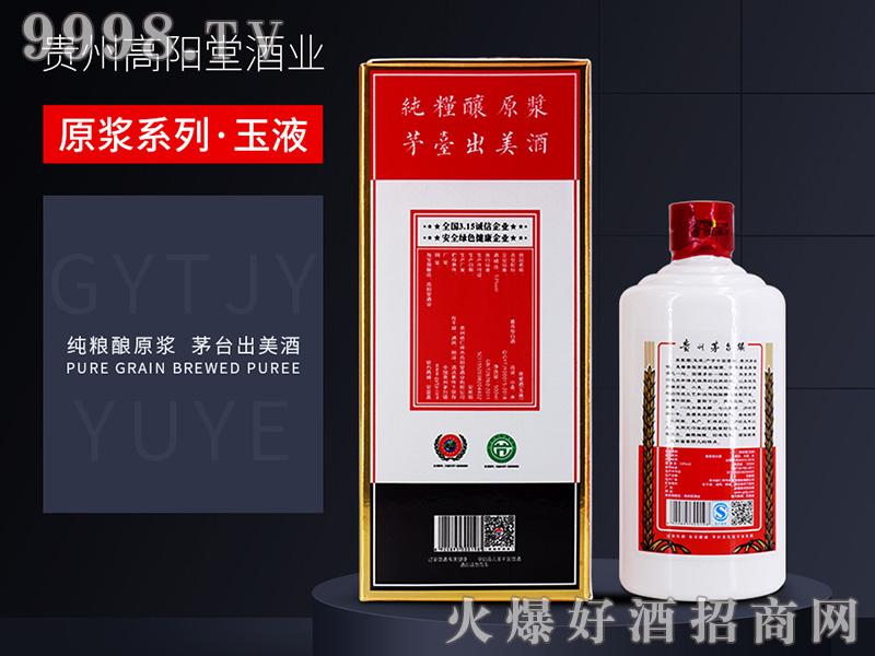 高阳堂原浆酒(玉液)53°500ml酱香白酒