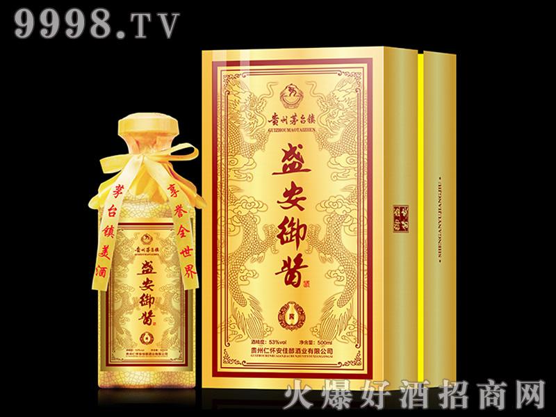 盛安御酱生态(30)53°500ml酱香白酒