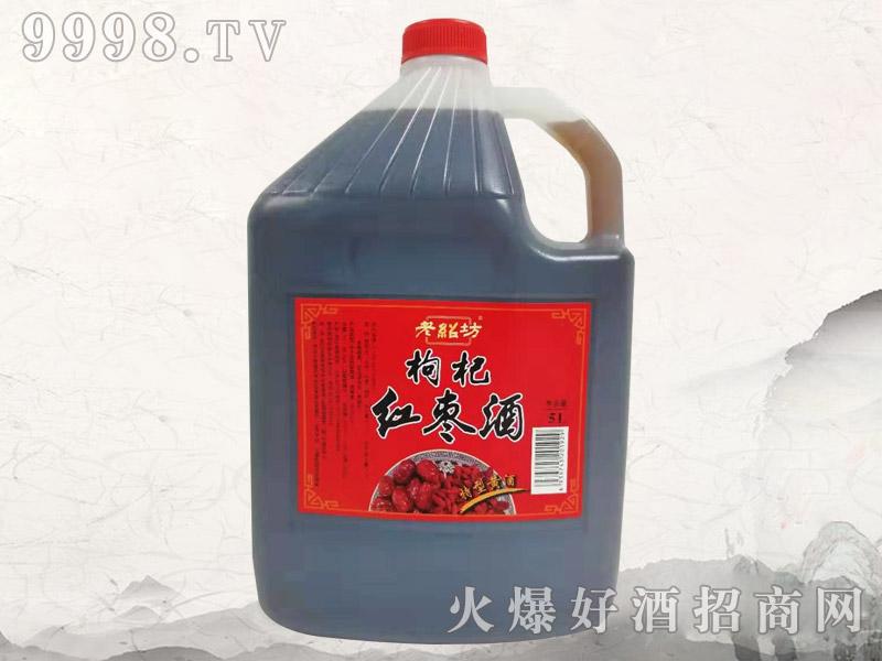 老绍坊枸杞红枣酒5L