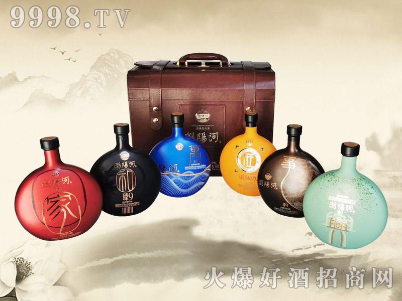浏阳河酒家和万事兴旺52°500ml浓香型白酒