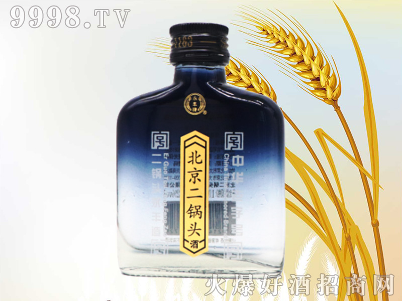 好彩永丰北京二锅头42°100ml清香型白酒