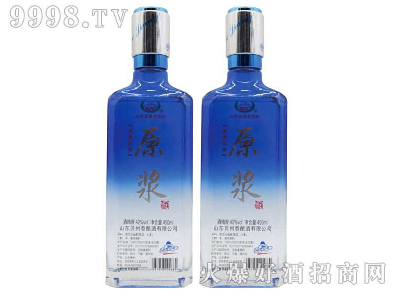 贝州春原浆酒清香型白酒【42°450ml】-白酒类信息