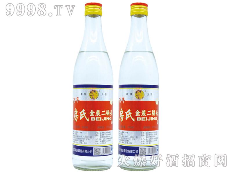 房氏金装二锅头酒浓香型白酒【42°500ml】-白酒类信息