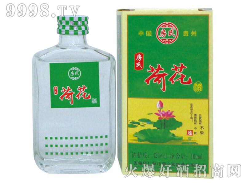 房氏荷花酒浓香型白酒【42°100ml】-白酒类信息