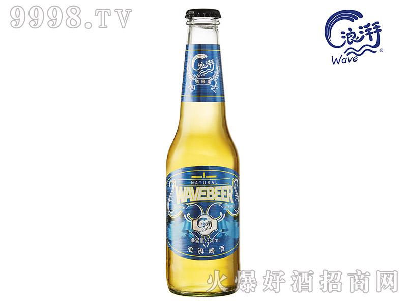 浪湃啤酒清爽型【330ml】