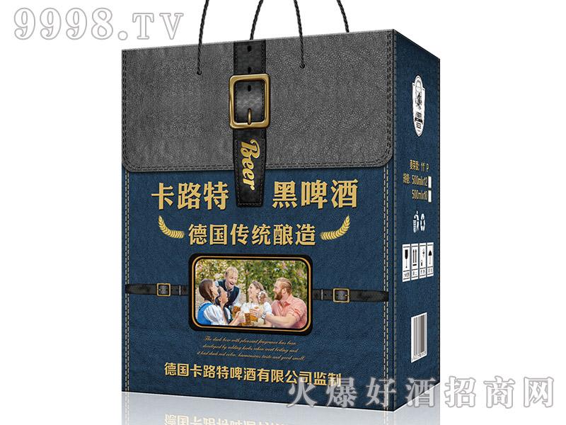 德国卡路特黑啤酒礼盒5号【500ml×12】