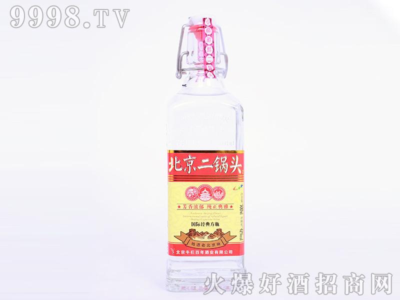 心醉纯纯二锅头国际经典方瓶浓香型【42度500ml】