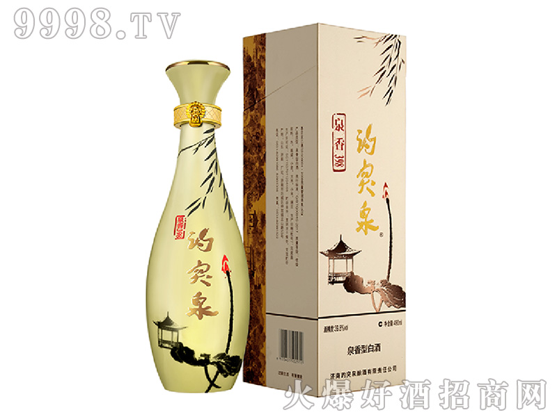趵突泉酒泉香型白酒【39.8°490ml】