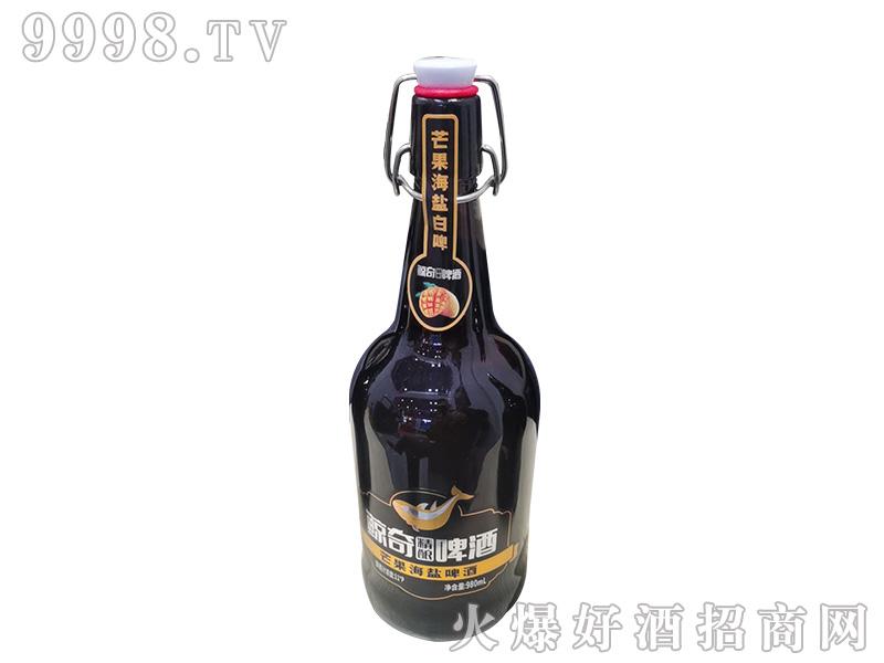 鲸奇芒果海盐精酿啤酒【11度980ml】-啤酒类信息