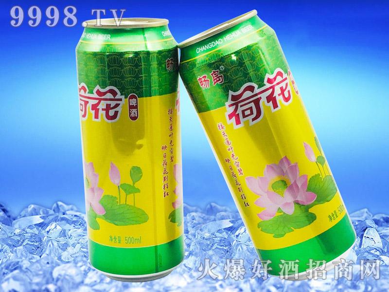 畅岛荷花啤酒500ml×12罐