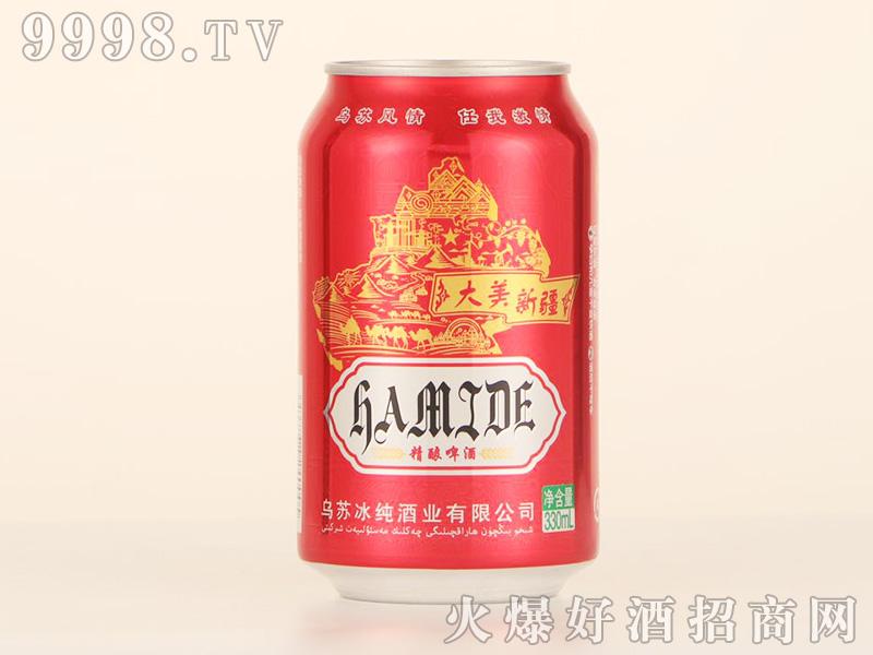 乌苏哈米德精酿啤酒罐装【11°330ml】