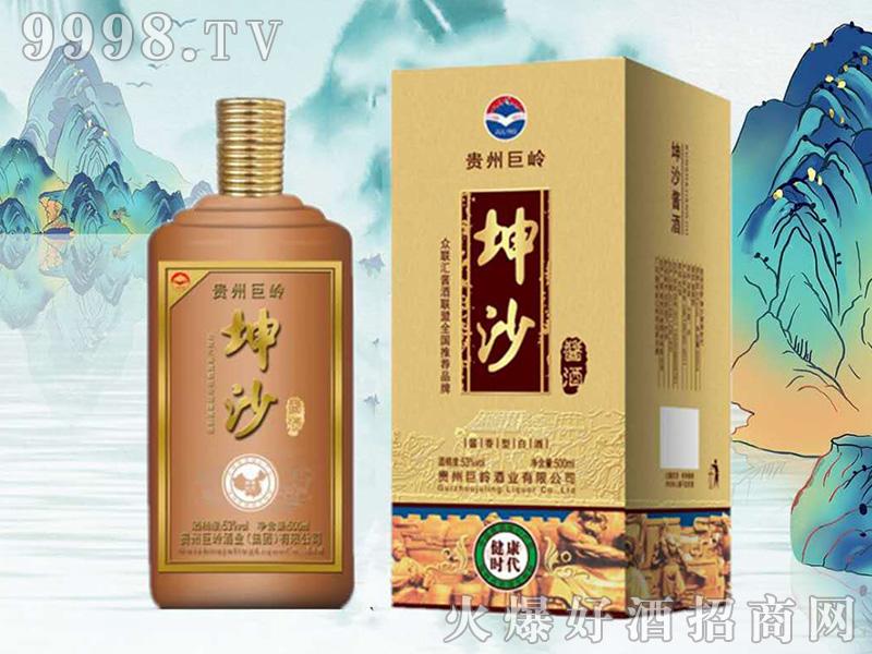 巨岭坤沙酱酒・健康时代酱香型白酒【53°500ml】-白酒类信息