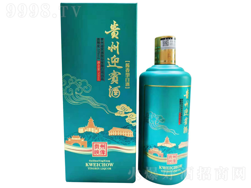 贵州迎宾酒贵州映像酱香型白酒【53%vol500ml】