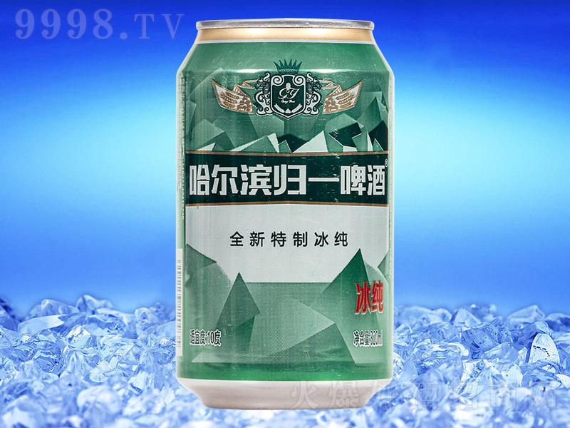 哈尔滨归一冰纯啤酒【320ml×24罐】