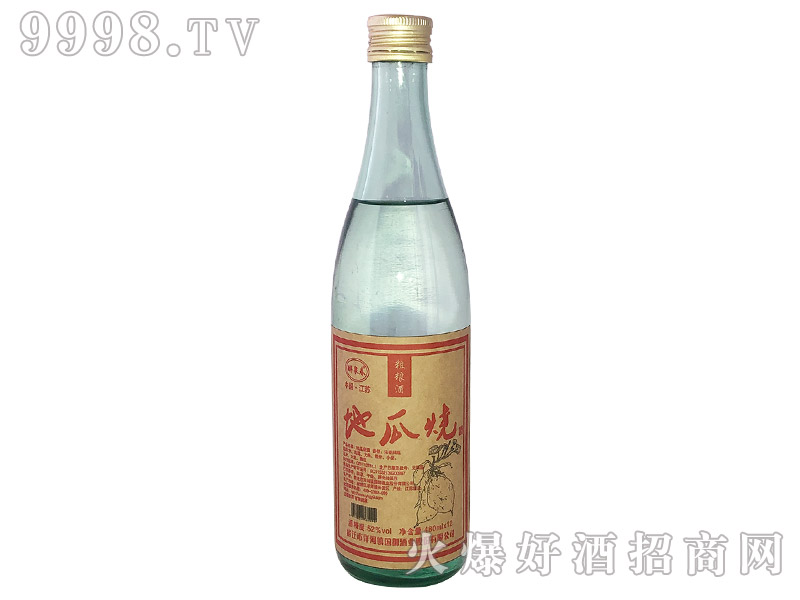醉泉春地瓜烧酒浓香型白酒【52°480ML】