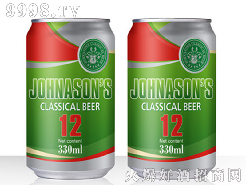 JOHNASONS BEER【12度330ml】