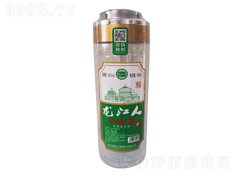 龙江人茶杯酒浓香型白酒【42°450ml】