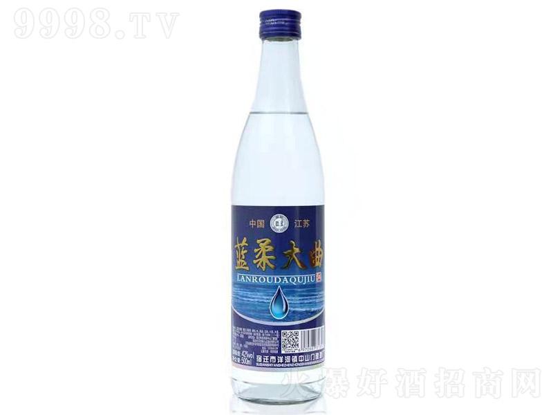 蓝柔大曲酒浓香型白酒【42°500ml】