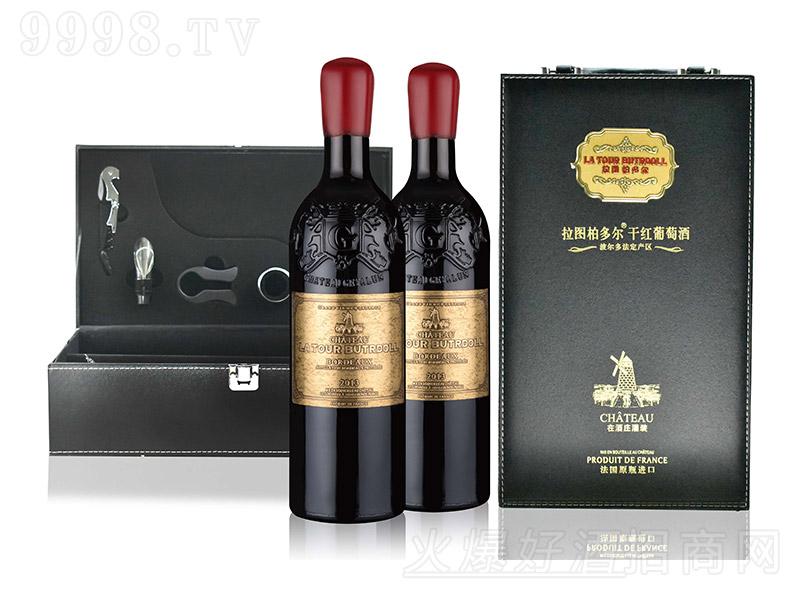 拉图柏多尔干红葡萄酒【13.5°750ml】