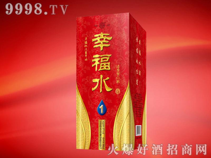 幸福水1号酒42°500ml清香型白酒