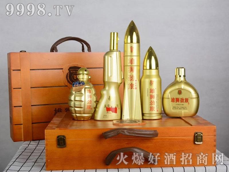 雄狮劲旅礼盒酒50°500ml浓香型白酒-白酒类信息