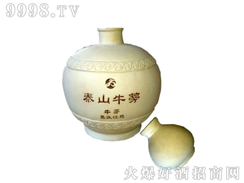 泰山牛蒡原浆酒52°2.5l清香型白酒