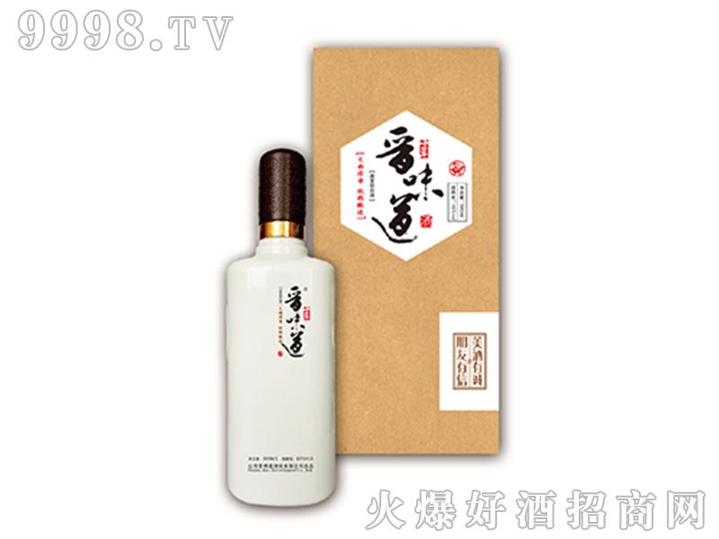 晋味道酒10礼盒装(乳玻瓶)45°500ml清香型白酒