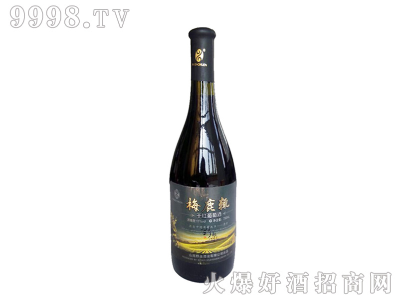 梅鹿辄干红葡萄酒11°750ml