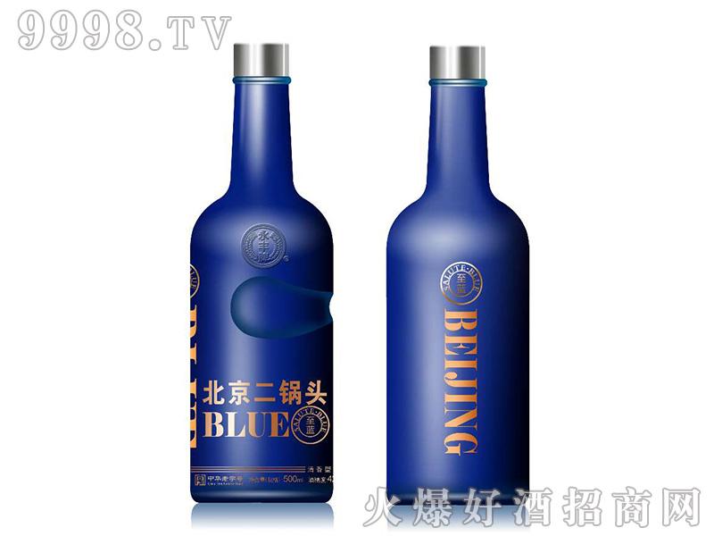 永丰牌·金蓝二锅头46°500mlX12清香型白酒