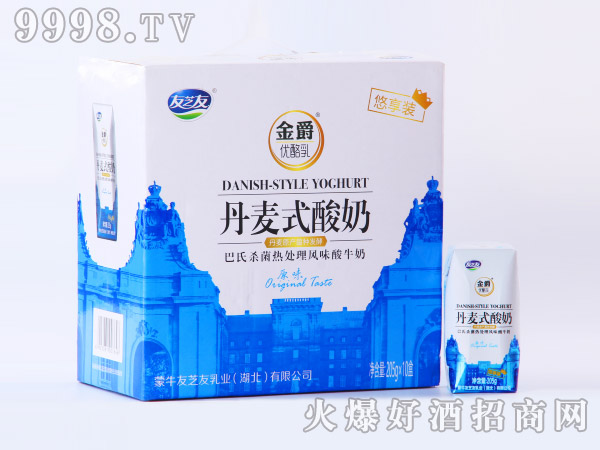 蒙牛丹麦式酸奶205ml×10