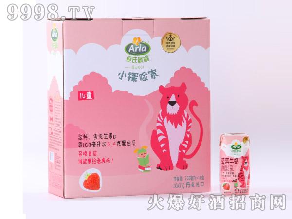 爱氏晨曦儿童草莓酸奶200ml×10