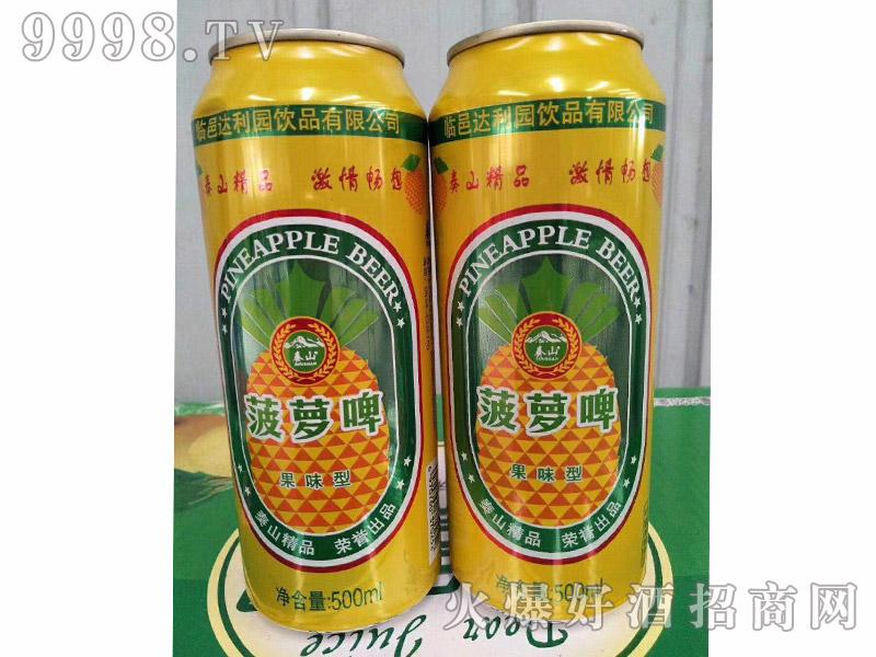 达利园饮品菠萝啤果味型500ml