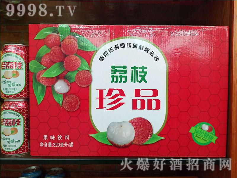 达利园荔枝珍品果味饮料320ml