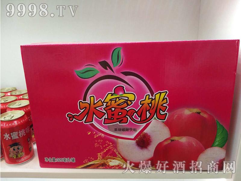 达利园水蜜桃果味碳酸饮料320ml