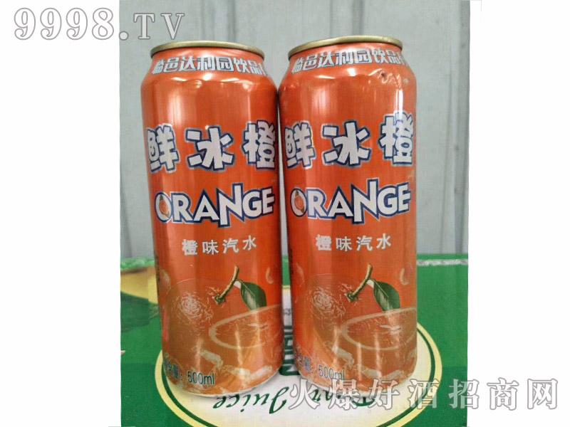 达利园饮品鲜冰橙500ml