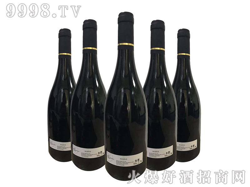 南澳2018精品西拉葡萄酒(定制)14.8度750ml