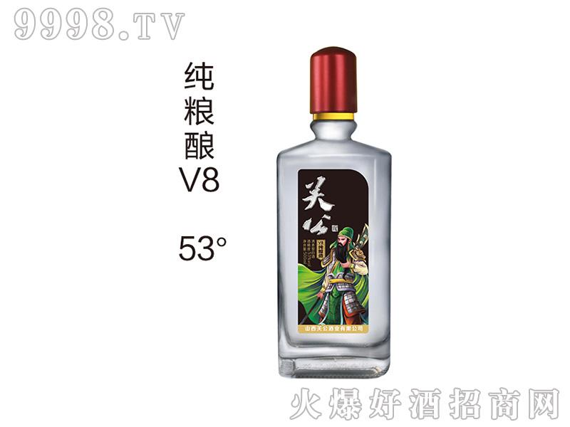 关公酒春粮酿V8 53度500ml清香型白酒