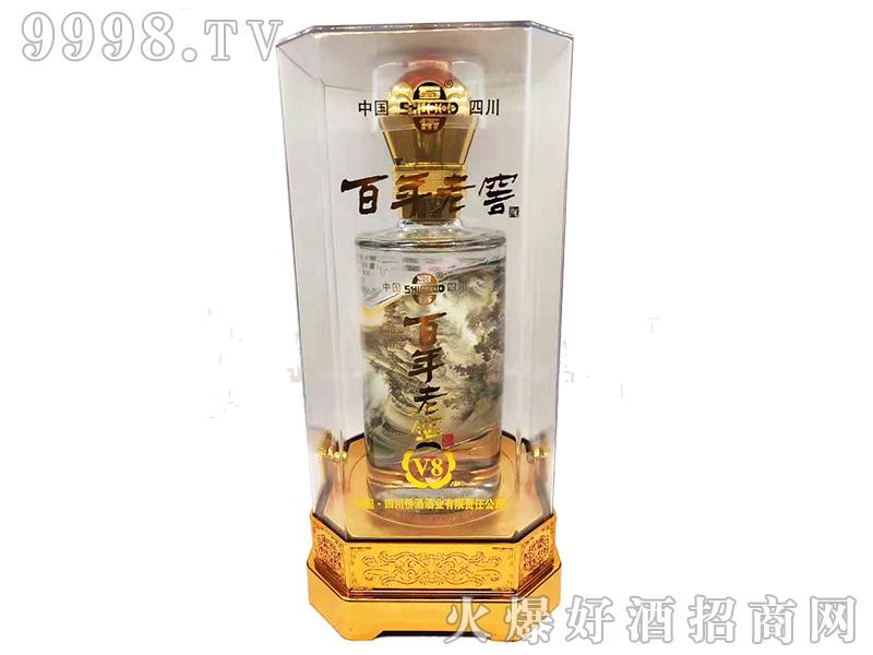 蜀侨百年老窖V8酒42°500ml浓香型白酒-白酒招商信息