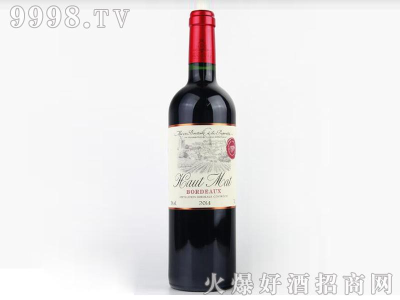 侯马波尔多干红葡萄酒13°750ml-红酒类信息