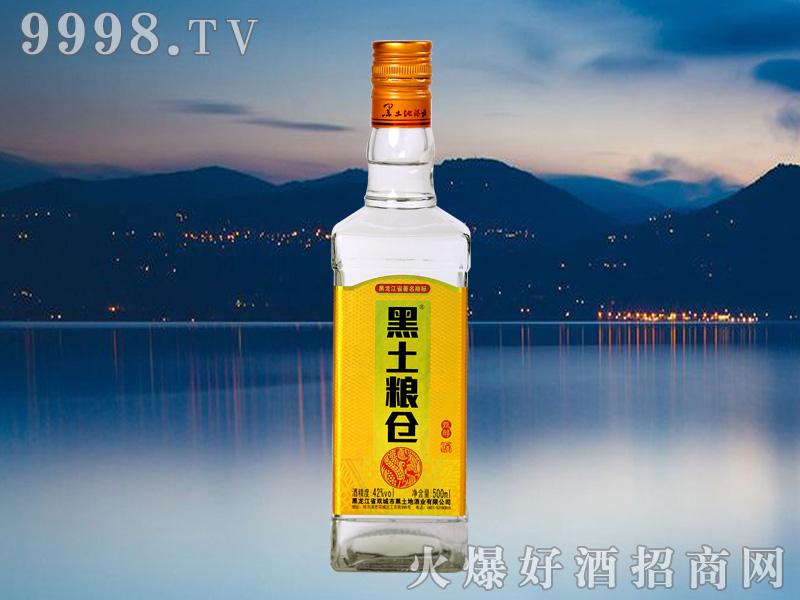 黑土粮仓甄醇酒42°500ml浓香型白酒