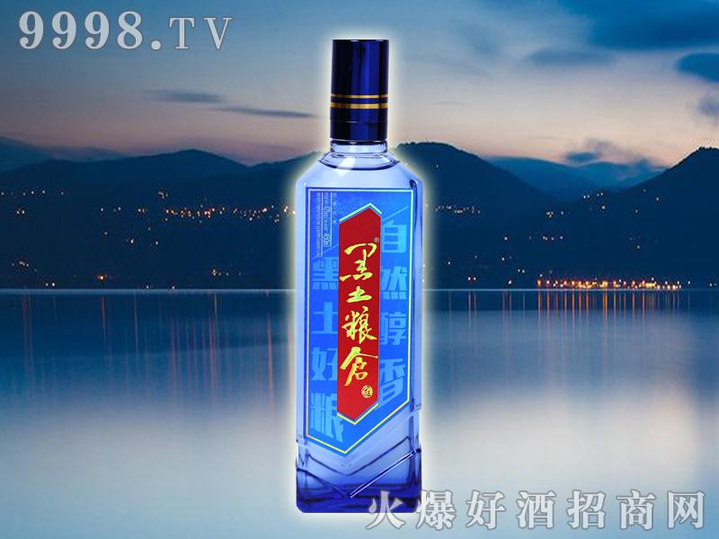 黑土粮仓酒蓝瓶42°450ml浓香型白酒
