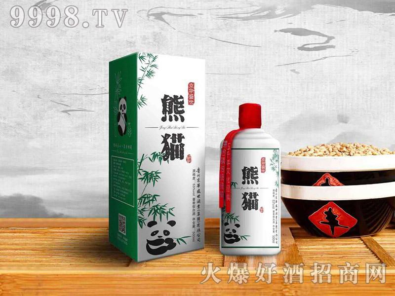 京华盛世酒熊猫酒53度500ml酱香型
