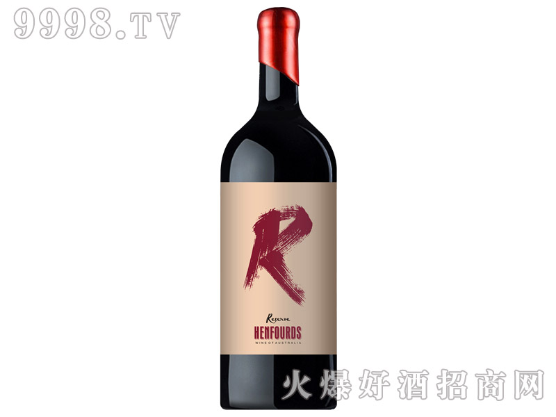 澳大利亚亨富庄主限量西拉干红葡萄酒
