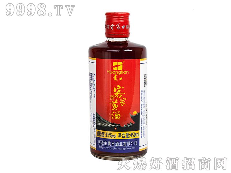 金黄田精品客家黄酒13度450ml