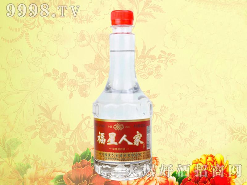 福星人家酒42度500ml浓香型